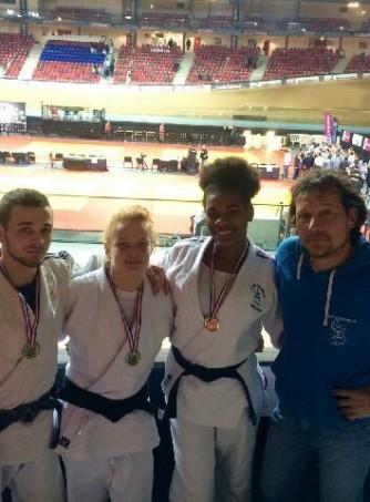 Médaillés Junior au Championnat de France 2e Division 2015