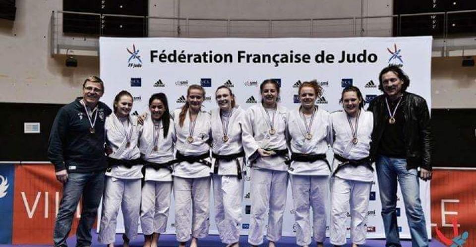Equipe Senior Féminine 3e au Championnat de France 2e Division par équipes 2016